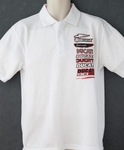 Ducati History Polo Shirt White