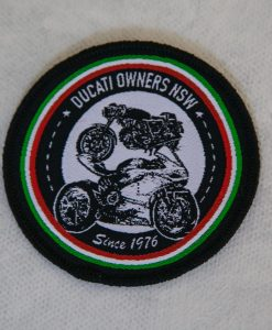 Ducati-Owners-Club-embroidered-badge-round