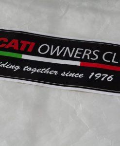 Sticker large banner logo copy