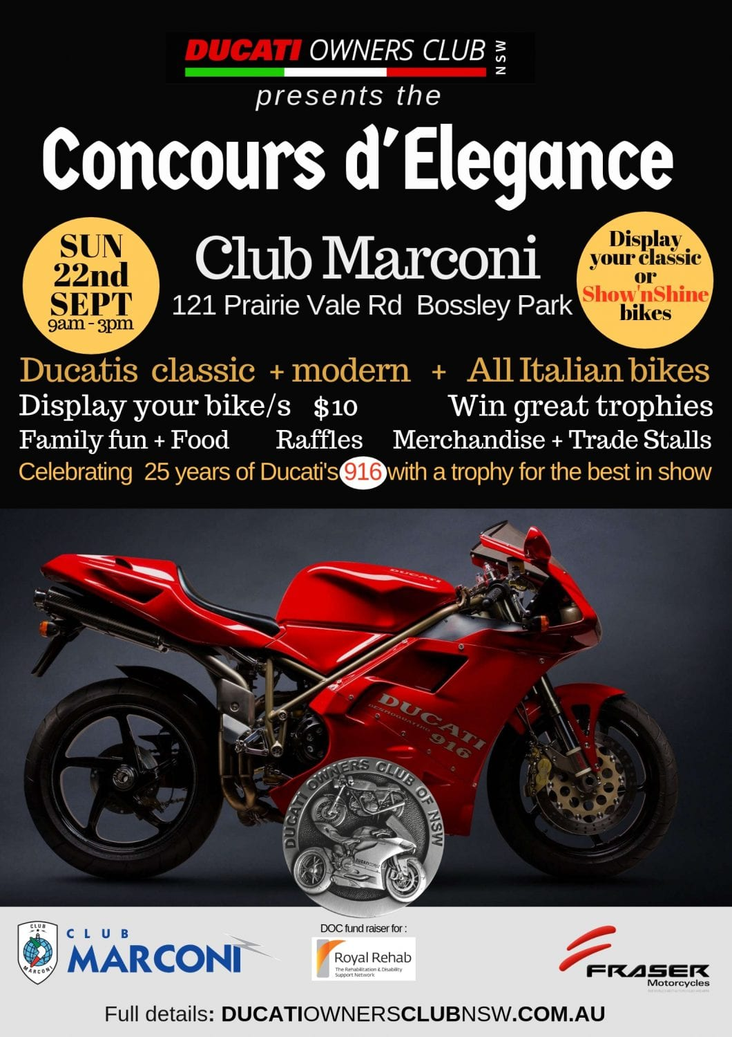 Concours d'Elegance 2019 poster